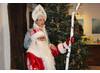 Ded Moroz und seine Enkelin Snegurotschka