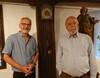 Gerhard Ritter und Obmann Manfred Getzner